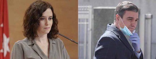 El mal perder de un enrabietado Sánchez refuerza a Ayuso en Madrid