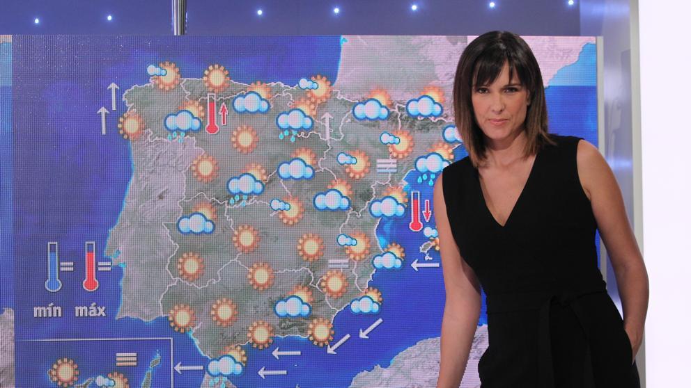 Mónica López, la 'Mujer del Tiempo', sustituye a María Casado en las mañanas de La 1