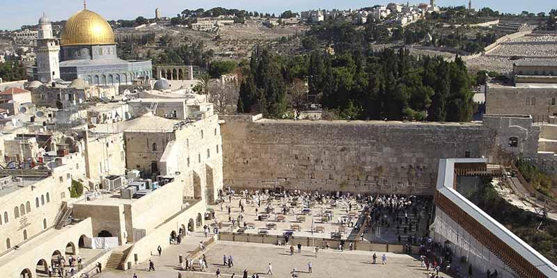 """""""Hallazgo único"""" en Jerusalén: descubren un complejo subterráneo de 2.000 años junto al Muro de los Lamentos"""