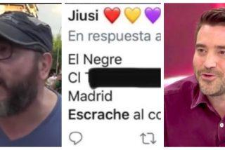 Las hordas de Podemos en las redes convocan escraches en el domicilio de Javier Negre
