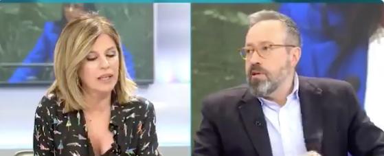 Palomera aplaude a rabiar la decisión de Arrimadas y recibe la lógica respuesta de Girauta