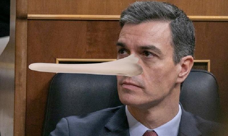 Chiste: el de los dos españoles, el gandul de Pedro Sánchez y la crisis