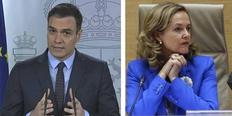 Lluvia de cuchillos socialistas: Sánchez conocía del pacto con Bildu, lo ocultó a Nadia Calviño y esta amenazó con dimitir