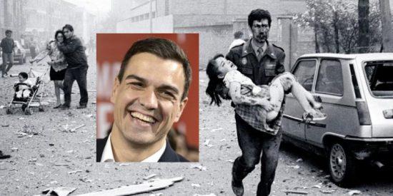 Las víctimas del terrorismo vuelven a sacar los colores a Pedro Sánchez con otra cifra alarmante