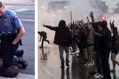 EE.UU. arde en protestas: un vídeo inédito desmiente a los policías que causaron la muerte de George Floyd