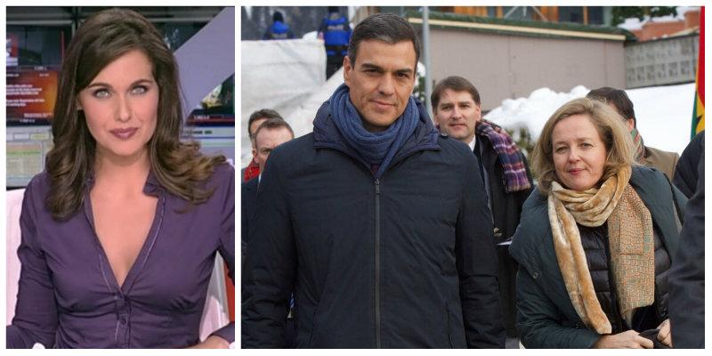 La presentadora Raquel Martínez provoca un terremoto en TVE con una rajada sobre los planes económicos de Pedro Sánchez