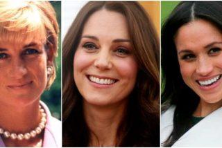 Ocultismo, amantes y menosprecios: los secretos de Lady Di, Kate Middleton y Meghan Markle, al descubierto