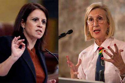 Rosa Díez 'sacude' a Adriana Lastra por sus insultos en el Congreso de los Diputados