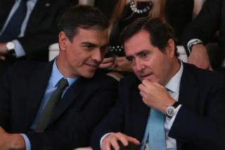 """Antonio Garamendi: """"Yo no vuelvo a Moncloa a pactar algo con este Gobierno de Sánchez"""""""