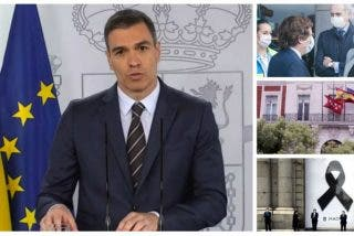 Almeida y Ayuso rompen con unas elocuentes imágenes el luto de pega que ahora pretende imponer Sánchez