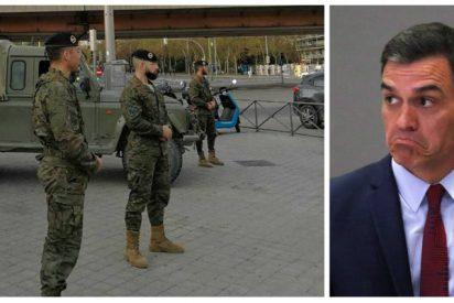 Los soldados abren otro flanco en el Gobierno de Sánchez: denuncian la falta de tests y equipos de protección individual