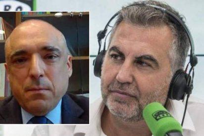 Alsina propina tal zasca al socialista Simancas que duele hasta a los barones del PSOE