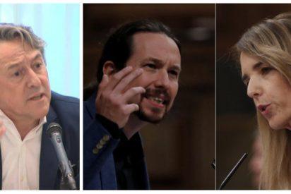 Tertsch aplaude a rabiar el palo de Álvarez de Toledo a Pablo Iglesias