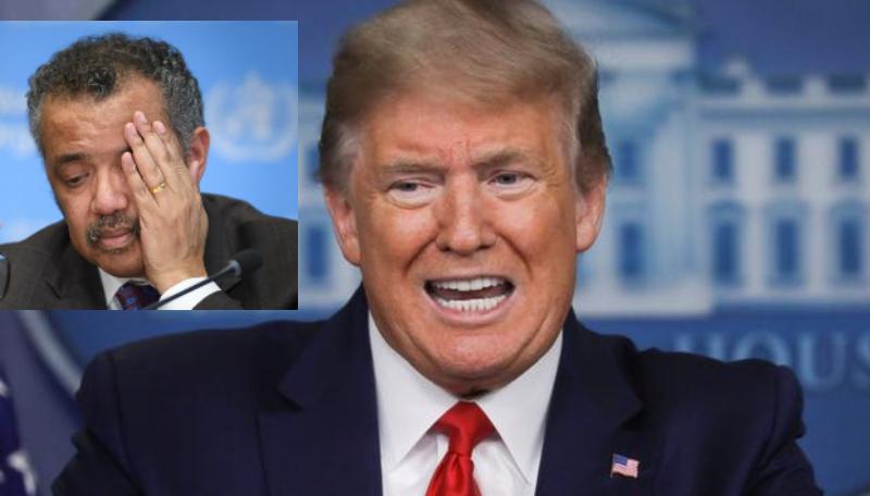 Donald Trump rompe las relaciones de EEUU con la 'prochina' OMS