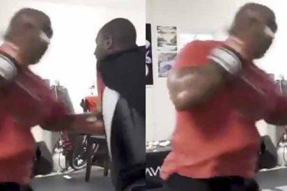 Mike Tyson aterroriza a su nuevo entrenador: