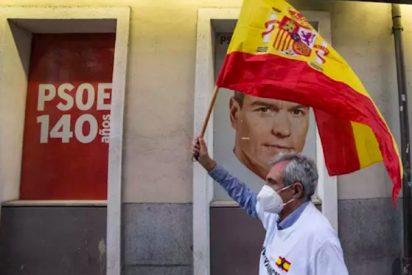 Protestas en toda España contra el Gobierno Sánchez, a dos días de las marchas en coche de VOX