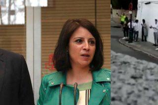 Ábalos recibe el 'jarabe democrático' del escrache y Adriana Lastra se coge una rabieta colosal