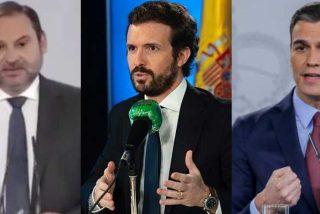 Sánchez ordena a Ábalos desvelar sus conversaciones con Casado para presionarle por no querer prorrogar el estado de alarma