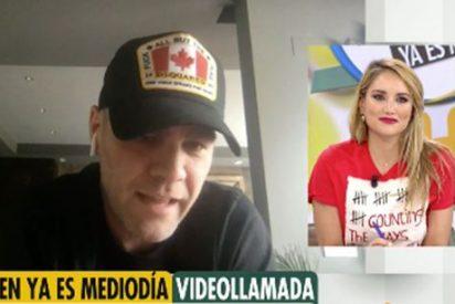 Alba Carrillo, atónita ante lo que dijo en directo su ex, Fonsi Nieto, en 'Ya es mediodía'