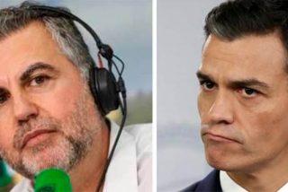 """Alsina se abalanza contra Sánchez: """"Al virus no lo hemos doblegado"""""""