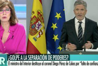 Colosal bofetón de Ana Rosa Quintana al ministro Marlaska: