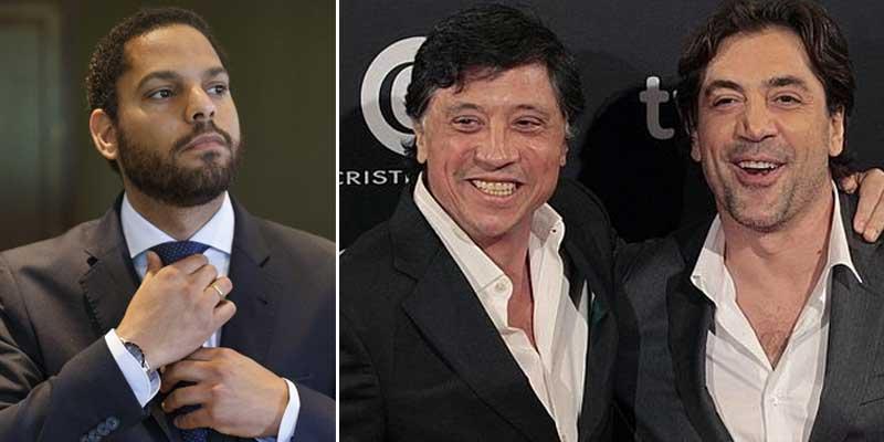 El 'racista' Carlos Bardem insulta al diputado de VOX Ignacio Garriga