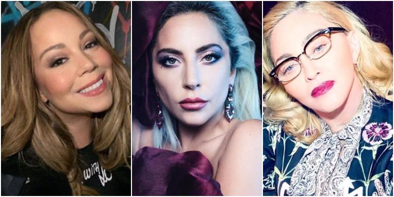 Madonna, Lady Gaga y Mariah Carey: sus asuntos más confidenciales, al descubierto