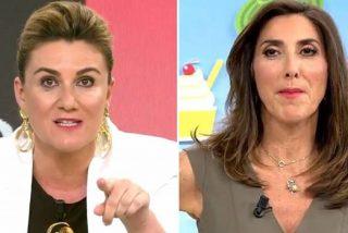 Paz Padilla regresa a 'Sálvame' y Carlota Corredera se tira de los pelos: ¡Guerra definitiva!