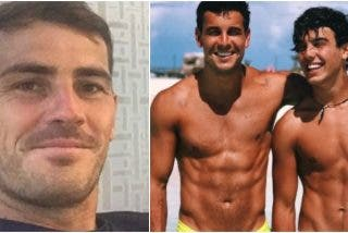 """""""No quiero desmerecerles"""": el ocurrente aviso de Iker Casillas a los hermanos Casas"""