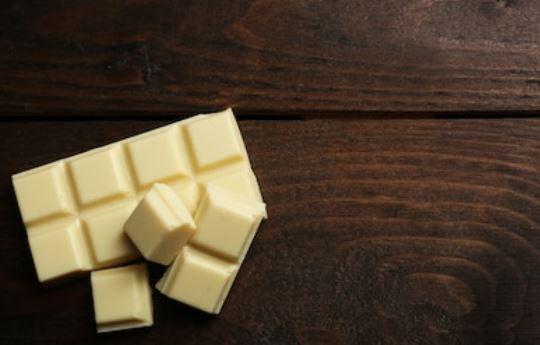 tableta de chocolate blanco