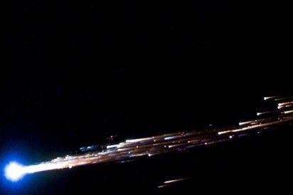 Una gigantesca pieza de un cohete chino se estrella contra la Tierra