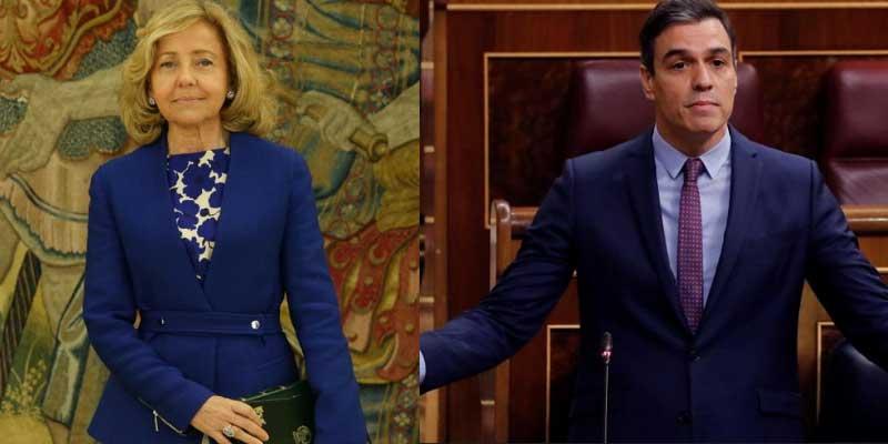 """La fiscal Consuelo Madrigal retrata a Sánchez por sus excesos antidemocráticos y señala a los medios de comunicación """"vasallos"""""""