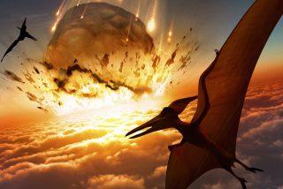 Así fue el impacto del asteroide que causó la extinción de los dinosaurios y75% de la vida en el planeta