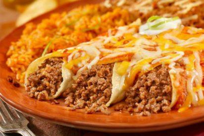 Receta de enchilada con carne picada