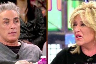 Lydia Lozano abandona 'Sálvame' ante el acoso y derribo de Kiko Hernández: ¿Es todo un montaje?