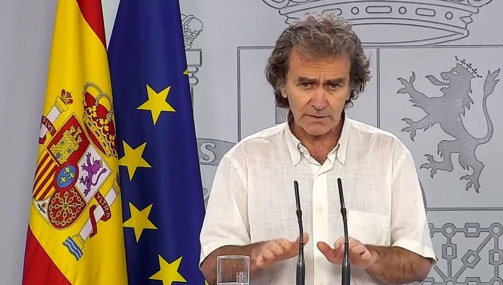 Fernando Simón oculta los nuevos contagios: solo muestra una cuarta parte de los recientes positivos