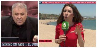 """El Quilombo / Un rabioso Ferreras llama 'tontos de la ultraderecha' a los que se burlaron de él por las playas """"abarrotadas"""" de La Barceloneta"""