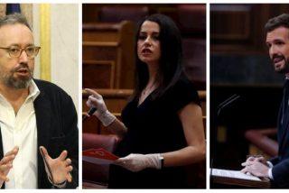 Girauta sacude de lo lindo a Arrimadas y Casado por desperdiciar la ocasión de desnudar al Gobierno socialcomunista