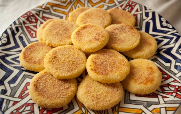 Receta marroquí de harcha al horno