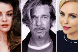 Selena Gomez, Brad Pitt o Charlize Theron: ¿Con quién pasan el confinamiento las estrellas de Hollywood?