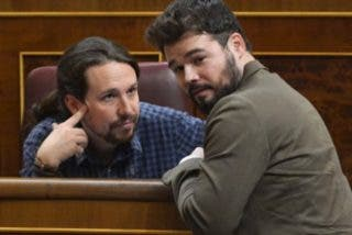 El plan 'oculto' de Gabriel Rufián para bloquear el dinero a Casa Real y al Constitucional con los PGE