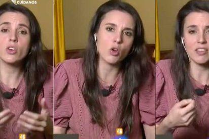 """Irene Montero se reafirma en el 'jarabe democrático' de los escraches buenos: """"Yo no me desdigo de nada"""""""