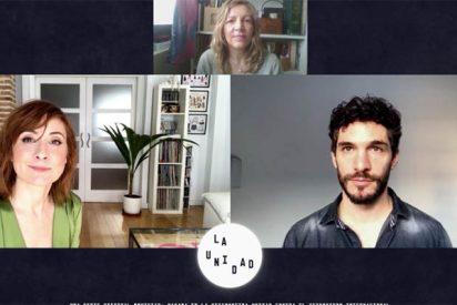Entrevista a los actores de 'La Unidad' (Movistar+), Nathalie Poza y Michel Noher