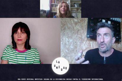 Entrevista a los actores de 'La Unidad' (Movistar+), Marián Álvarez y Luis Zahera
