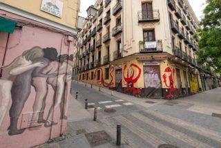 Madrid: Hosteleros de Lavapiés dan el verano por perdido