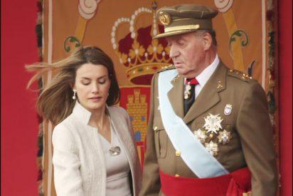 Un grave desprecio de Doña Letizia al Rey Juan Carlos agita el fin de la cuarentena en Casa Real