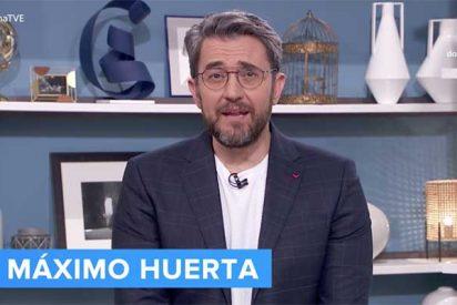 "Máximo Huerta se va de TVE señalando a Rosa María Mateo: ""Está feo aprovechar la pandemia para echarnos"""