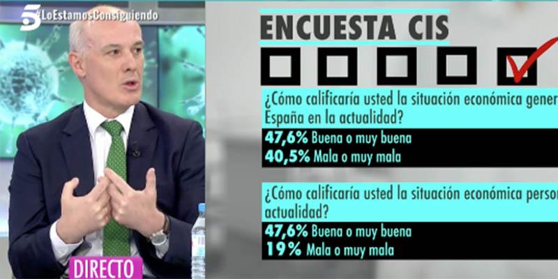 """Narciso Michavila rompe la baraja del Gobierno: """"¡El virus está en retirada! El confinamiento ya es contraproducente!"""""""