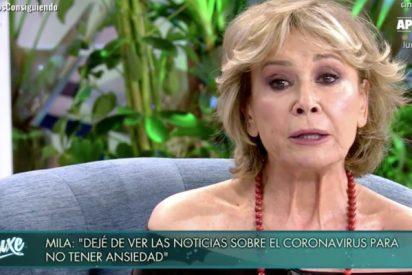 """La confesión más desgarradora de Mila Ximénez en su regreso a Telecinco: """"Estaba todo el día empastillada"""""""