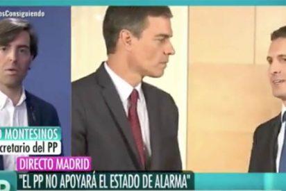 """Pablo Montesinos (PP): """"Basta de amenazas y chantajes, el Gobierno debe rectificar y Ábalos, pedir disculpas"""""""